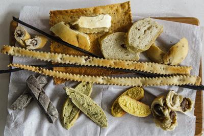 Tipos de panes.