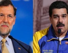 Rajoy y Maduro