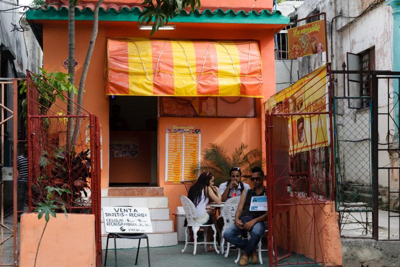 Cafeteria privada La atrevida.  Foto: Juan Suárez