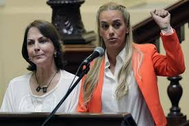 Lilian Tintori y MItzy Capriles.  Foto: correodelorinoco.gob.ve