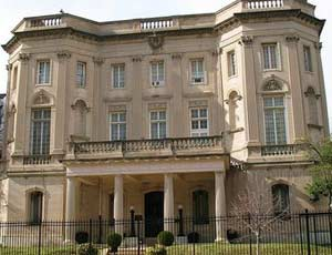 The Cuban Interests Section building in Washington D.C. could become the new Cuban embassy.