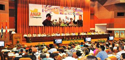 El Congreso de la ANAP.  Foto: Jorge Luis González/granma.cu