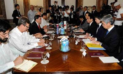 Delegaciones de Cuba y Japón, La Habana 2 de mayo, 2015.  Foto: ain.cu