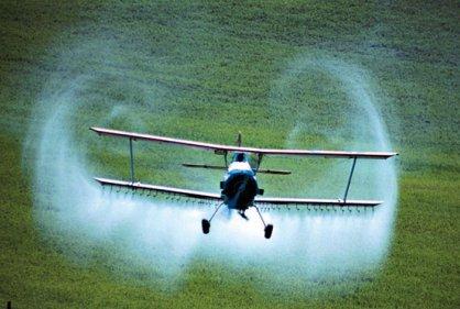 Fumigación con glifosato.  Foto: rcnlaradio.com