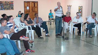 Los participantes hicieron amplio uso del derecho a opinar.