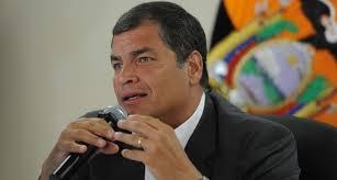 Rafael Correa.  foto: elciudadano.gob.ec
