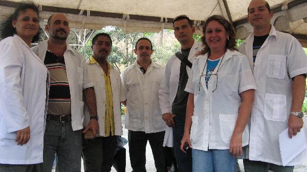 Médicos cubanos en Guatemala.  Foto/archivo: cubadebate.cu