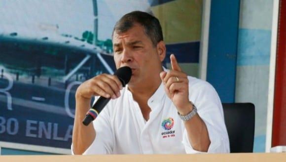 Rafael Correa.  Foto: cancilleria de Ecuador