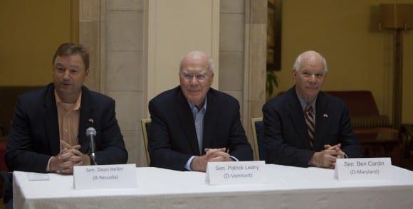 Senadores estadounidenses de visita en La Habana.  Foto: Ismael Francisco/cubadebate.cu