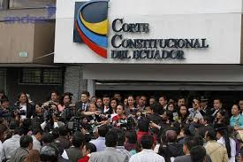 El Corte Constitucional de Ecuador.  Foto: andes.info.ec