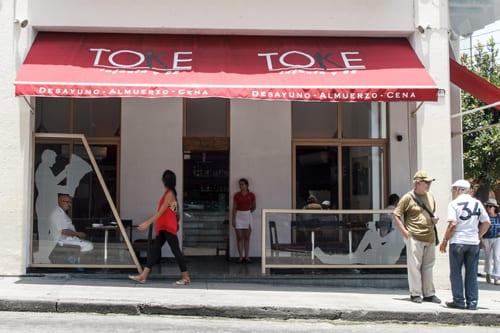 El restaurante privado Toke Toke en Infanta y 25.