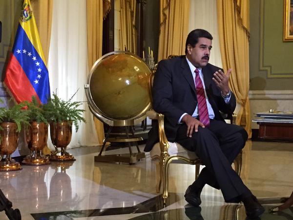 El presidente venezolano, Nicolás Maduro.  Foto: telesurtv.net