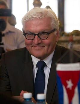 El ministro de Exteriores alemán, Frank-Walter Steinmeier