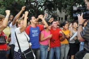 Mitin de repudio en cuba. www.eltonodelavoz.com