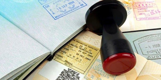 pasaporte y visados