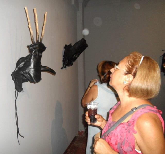 Exposición de Adonis Ferro