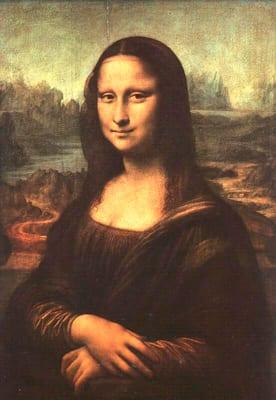 Da Vinci.  La Gioconda