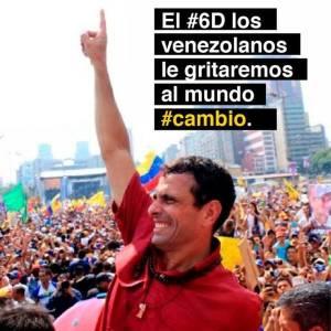 Henrique Capriles de su página de Facebook.