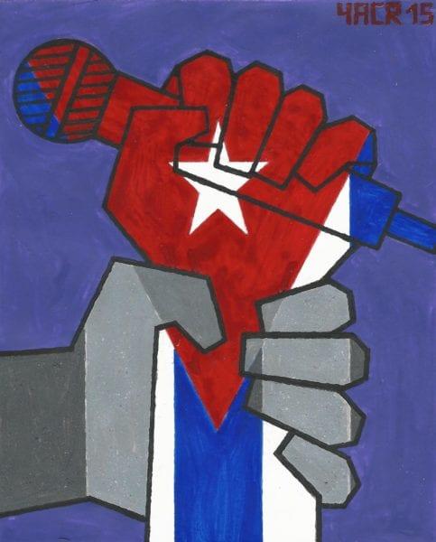 Hip Hop cubano. Illustración por Yasser Castellanos