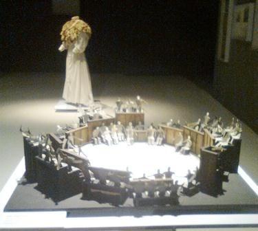 Maqueta de la obra Peer Gynt dir Vicente Revuelta 1970