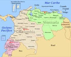 Colombia y Venezuela. Map: wikipedia.org