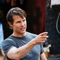 Tom Cruise de su página de Facebook