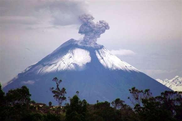 El volcán Cotopaxi.  Foto: tctelevision.com
