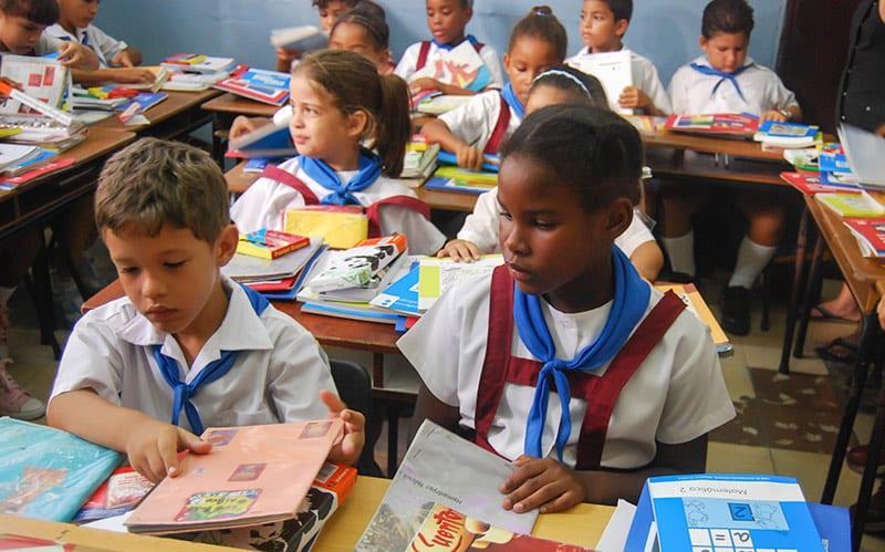 6.Durante medio siglo el sistema de Educación cubano ha sido capaz de escolarizar al ciento por ciento de los niños. Foto: Raquel Pérez Díaz