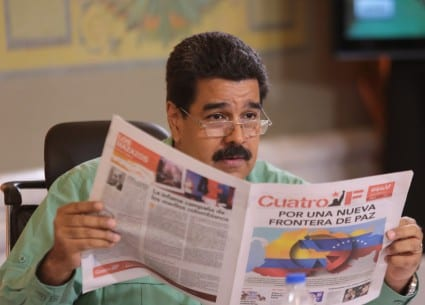 Nicolás Maduro. Foto: Francisco Batista/ www.nicolasmaduro.org.ve