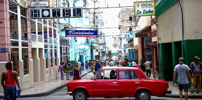 Calle de Santiago de Cuba