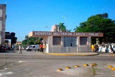 El hospital militar. Foto: Jimmy Roque Martínez