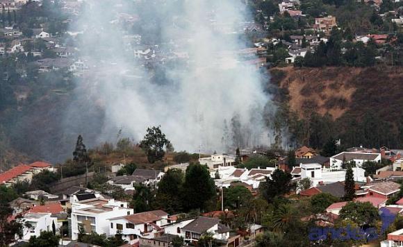 Han habido muchos incendios en los alrededores de Quito.  Foto: Eduardo Flores/Agencia Andes La información y el contenido multimedia, publicados por la Agencia de Noticias Andes, son de carácter público, libre y gratuito. Pueden ser reproducidos con la obligatoriedad de citar la fuente. http://www.andes.info.ec/es/actualidad/6086.html