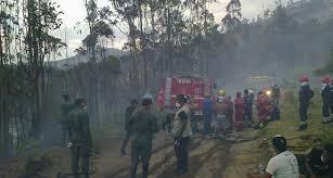Incendios en Ecuador.  Foto: elciudadano.gob.ec