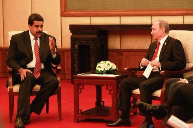 Nicolás Maduro y Vladimir Putin.  Foto: gob.ve