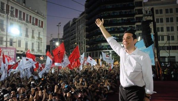 Alexis Tsipras en una actividad de campaña. Foto/archivo: telesurtv.net