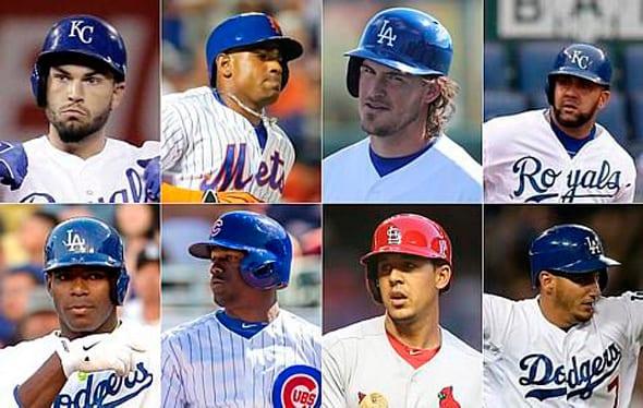 Cubanos en la postemporada de Grandes Ligas.