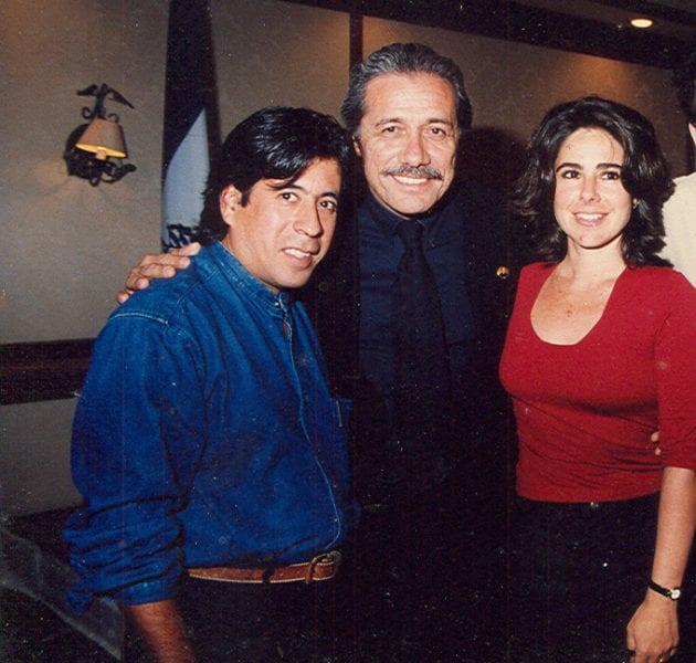 Con Edward G Olmos