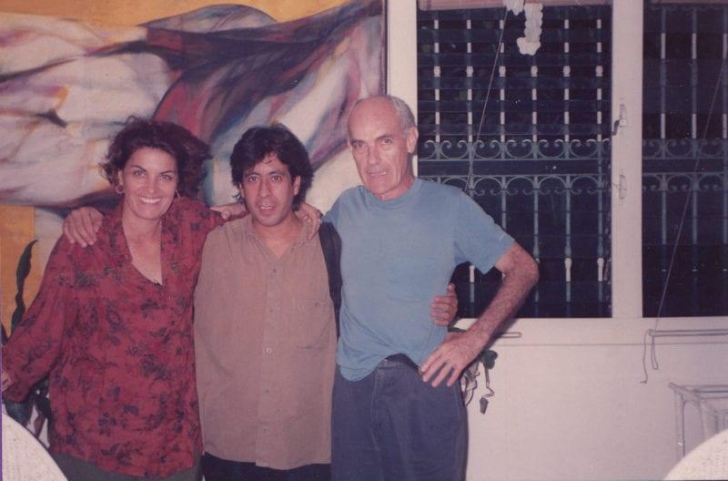 Con Mirta Ibarra y Titon