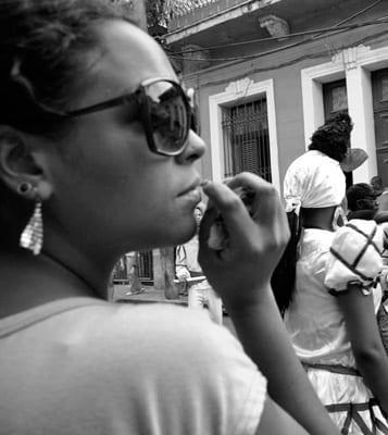 Una cubana. Foto: Caridad