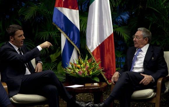 Los mandatarios sostuvieron conversaciones oficiales. Foto: Ismael Francisco/Cubadebate