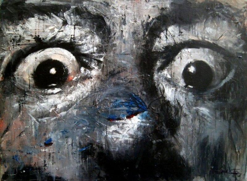 Acrilico sobre lienzo de Rafael Ricabal