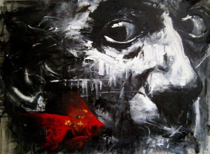 Acrilico sobre lienzo. Rafael Ricabal