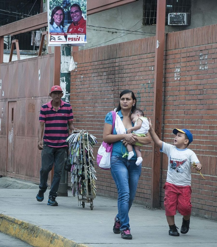 Caracas, Venezuela campaña electoral 2015. Foto: Caridad