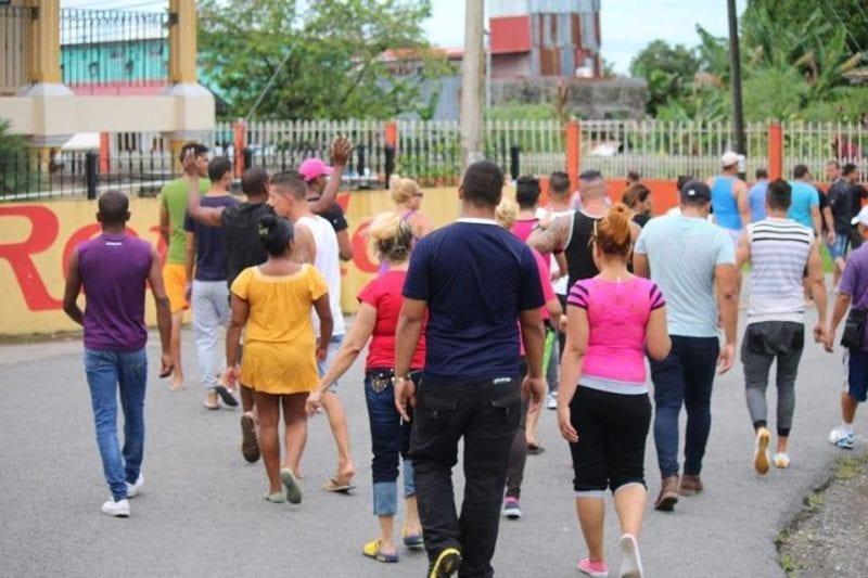 Cubanos varados en Costa Rica. Foto: elnuevoherald.com/Cortesía Alvaro Sánches
