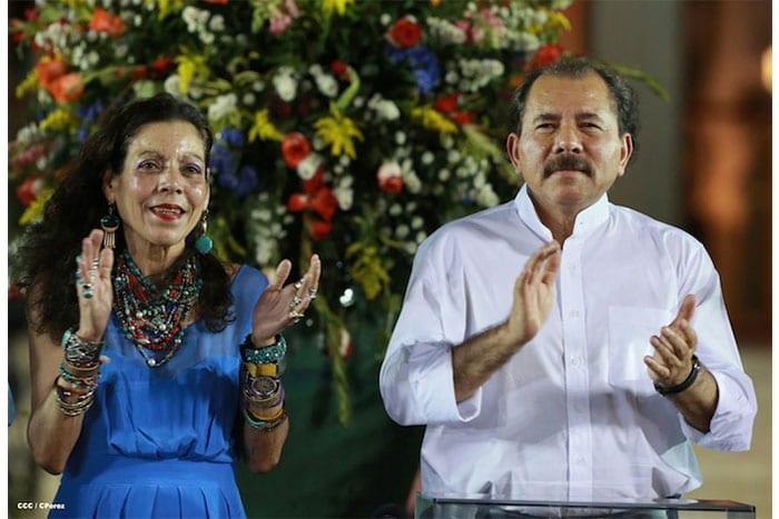 Daniel Ortega y Rosario Murillo. Foto: el19digital.com
