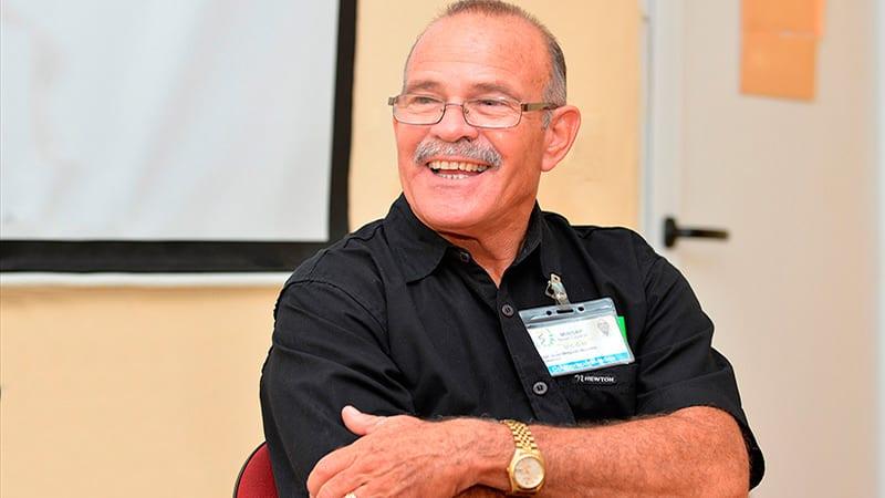 El Dr. Jorge Delgado dirigió la brigada de médicos que combatió en Sierra Leona.