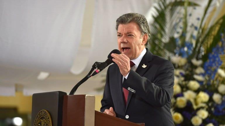Juan Manuel Santos. Foto: presidencia de Colombia/infobae.com