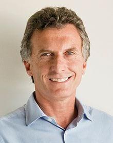 Mauricio Macri, el nuevo presidente electo de Argentina.  Foto: wikipedia.org