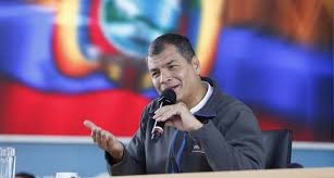 Rafael Correa.  Foto/archivo: gob.ec