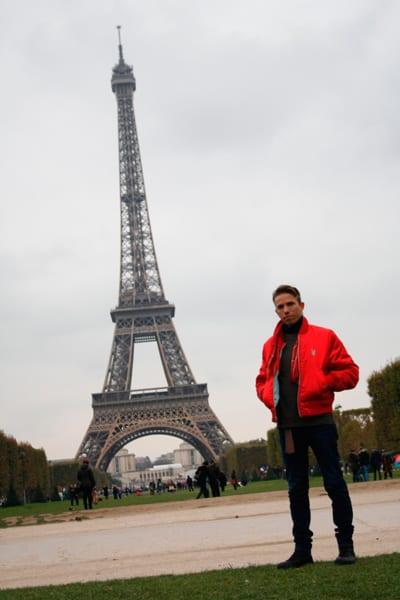 Yuri Obregón en Paris